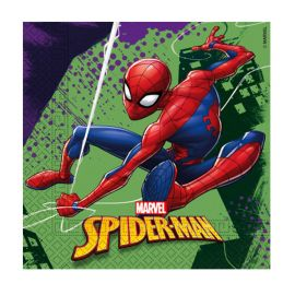 20 Servilletas Spiderman 33 cm