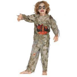 Disfraz de Zombie para Niño sin Tripas