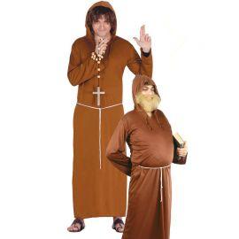 Disfraz de Monje para Hombre con Sotana