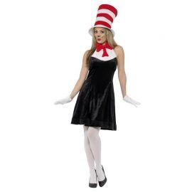 Disfraz de Gato en el Sombrero para Mujer