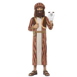 Disfraz de Pastor del Belén a Rayas para Niño
