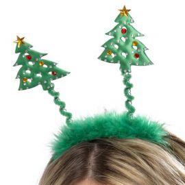 Diadema con Árboles de Navidad