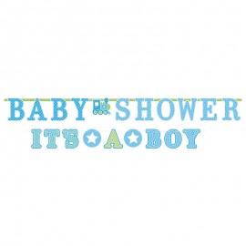 2 Guirnaldas Baby Shower It's a Boy