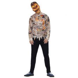 Disfraz de Calabaza Podrida para Hombre