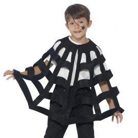 Capa de Tela de Araña Infantil
