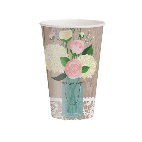 8 Vasos Rustic Wedding