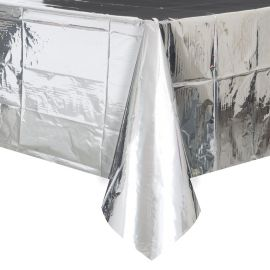 Mantel Metalizado de Plástico 138 x 274 cm