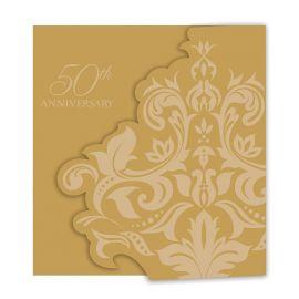 25 Invitaciones Bodas de Oro
