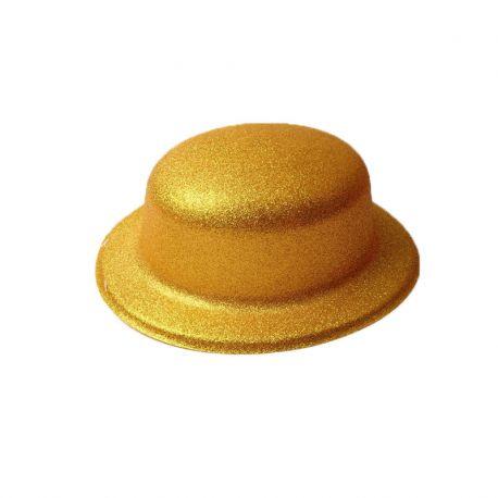 Sombrero Metalizado con Purpurina Redondo