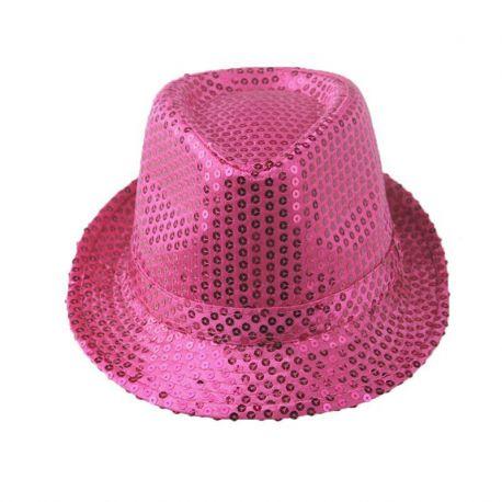 Sombrero de Lentejuelas Metalizado