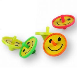 5 Juguetes Peonzas Sonrientes