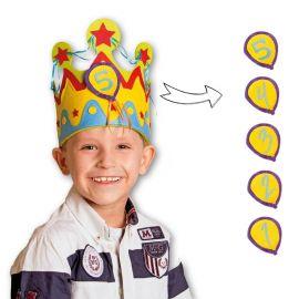 Corona para Cumple de 1-5 Años