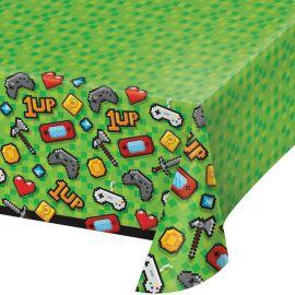 Mantel Videojuegos de Plástico 137 cm x 259 cm