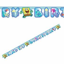 Guirnalda Bob Esponja Happy Birthday