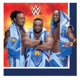 16 Servilletas WWE 33 cm