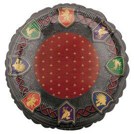 Globo Medieval Redondo de Foil