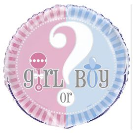 Globo Gender Reveal Foil 46 cm
