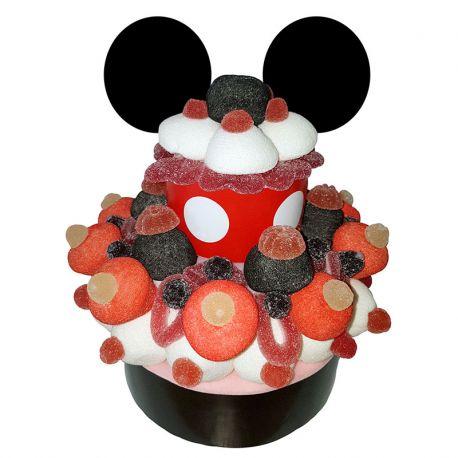 Tarta Chuches Mickey Mouse 600 grs