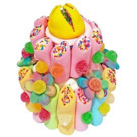 Tarta Chuches Multicolor 300 grs