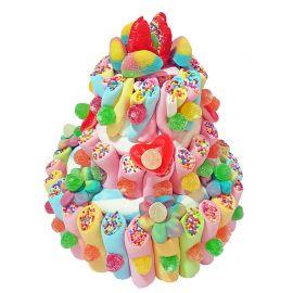 Tarta Multicolor de Chuches 550 grs