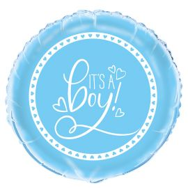 Globo It's a Boy Foil 46 cm