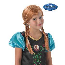 Peluca de Anna Frozen