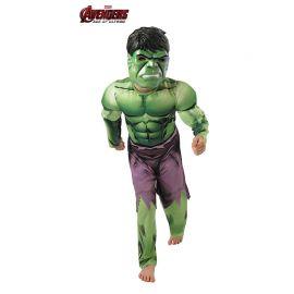 Disfraz de Hulk de los Vengadores Infantil