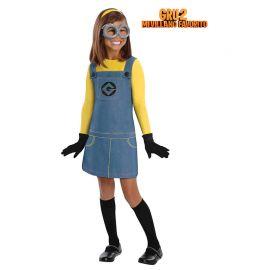Disfraz de Minion con Gafas para Niños