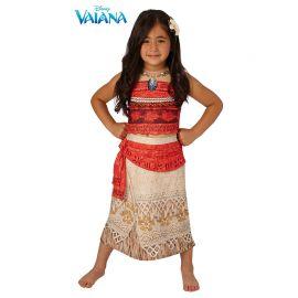 Disfraz de Vaiana con Collar Infantil