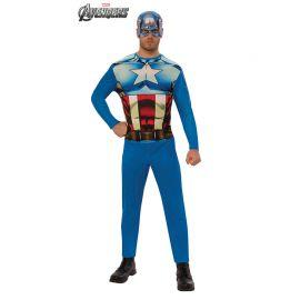 Disfraz de Capitán América Opp para Adultos