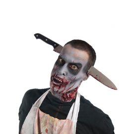 Diadema con Cuchillo Zombie