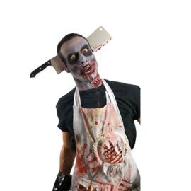 Diadema con Cuchillo carnicero Zombie