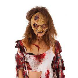 Máscara Zombie Media Cara Halloween