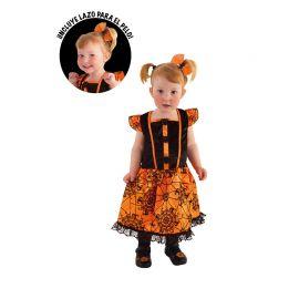 Disfraz de Arañita Naranja Bebé