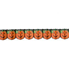 Guirnalda de Calabaza Impresa Halloween