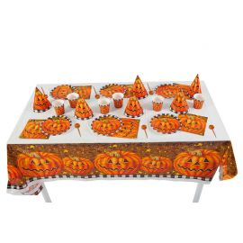 Kit de Mesa de Calabaza Halloween