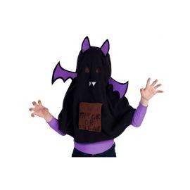 Disfraz de Murciélago Negro con Alas