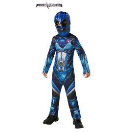 Disfraz de Power Ranger Azul Clásico Infantil