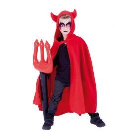 Capa de Diablo con Tridente Hinchable Infantil