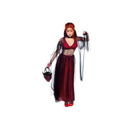 Disfraz de Vampiresa Novia de Drácula