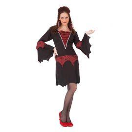 Disfraz de Vampiresa de Lujo para Chica
