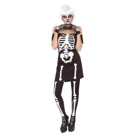 Miss. Esqueleta Blanco y Negro
