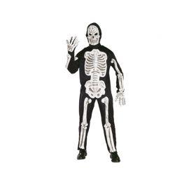 Disfraz de Esqueleto con Huesos en 3D