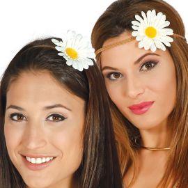 Diadema con Flor Hippie