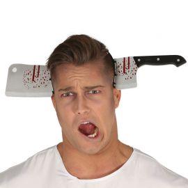Diadema de Carnicero con Cuchillo Ensangrentado