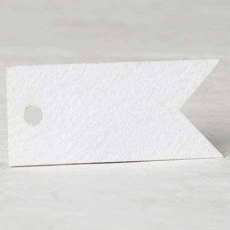 77 Tarjetas Banderola 3,7 cm x 1,7 cm