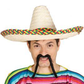 Sombrero Mejicano Colorido 50 cm