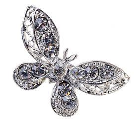 12 Broches con Forma de Mariposa Strass