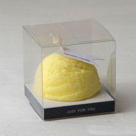6 Velas Aromática Fragancia Limón en Estuche 6 cm x 6cm