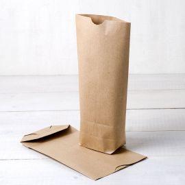 Pack de 50 Bolsas de Papel de Kraft 12 cm x 22,5 cm x 5 cm